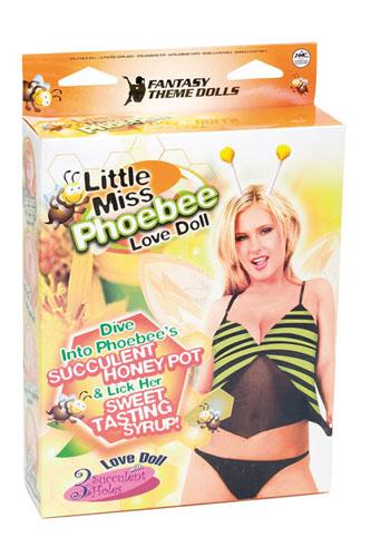 Little Miss Phoebee – täispuhutav kumminukk kolme avaga