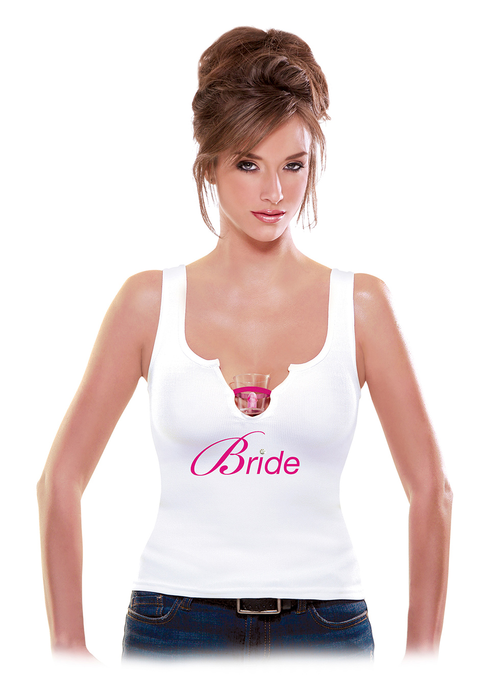 Bride Shot Glass Tank Top 2xl/3xl
