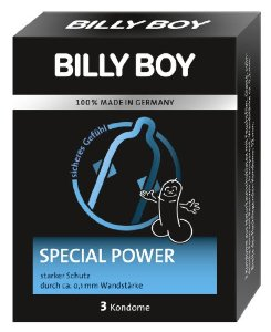 Billy Boy Special Power kondoomid 3tk
