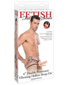 Fetish Fantasy Double Penetrator Vibreeriv Strapon, Sekslelud, Strap On / Rihmadega Dildod, Sekspood, Sekslelud naistele, Sekslelud meestele, Proteesid, SOODUSTUSED