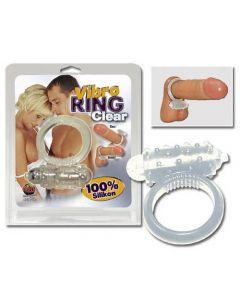 Vibro Ring, vibreeriv peeniserõngas, läbipaistev, Peeniserõngad ja mansetid