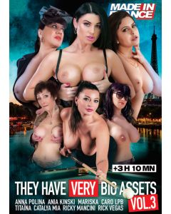 THEY HAVE VERY BIG ASSETS VOL.3 EROOTILINE FILM