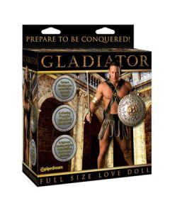 Gladiator Love Doll, kahe avaga kummimees, Sekslelud, Sekslelud naistele, Nukud naistele