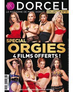 MARC DORCEL MAGAZINE NO 13 + 2 BONUS DVD, Erootika ajakirjad , Sex Shop, Uued tooted