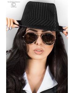 Gangster Hat, kaabu, Aksessuaarid naistele , Sekspood, Kübarad