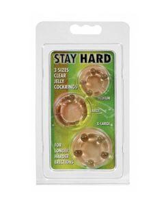 Stay Hard, läbipaistvad peeniserõngad, Peeniserõngad ja mansetid