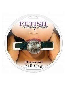 Diamond Ball Gag, clear - suupall, BD & SM, Naistele, Meestele