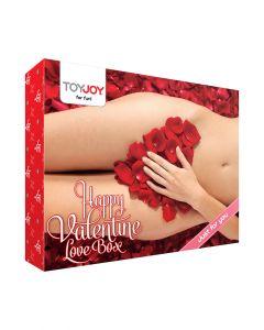 HAPPY VALENTINE LOVE BOX komplekt, Sekslelud, Sex Shop, Komplektid