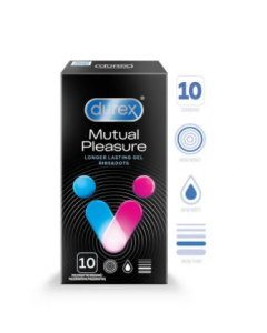 DUREX Mutual Pleasure KONDOOMID 10TK