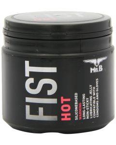 Mister B Fist Hot Lube 500 ml, Libestid ja massaažiõlid, Silikoonibaasil libestid