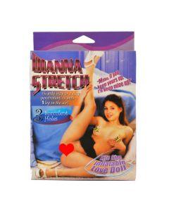 Dianna Stretch, täispuhutav kumminukk kolme avaga, Täissuuruses Seksnukk - Seksnukud - Nukud meestele