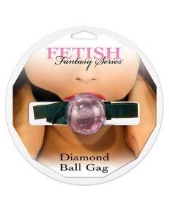 Diamond Ball Gag, pink - suupall, BD & SM, Naistele, Meestele