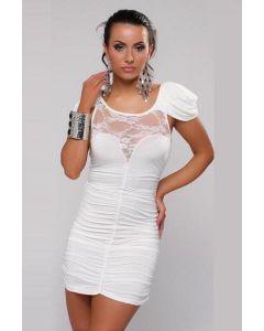 Sexy Cocktail Party Mini Dress White , Ilusad ja moodsad kleidid