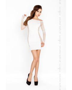 šarmantne passion kleidike, valge S-XXL, Naiste pesud ja riided, Sekspood, Ilusad ja moodsad kleidid, SOODUSTUSED, Kingid naisele