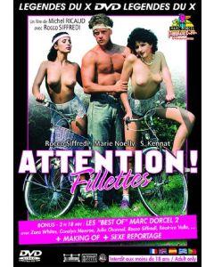 DVD Attention fillettes, DVD, Hetero DVD, Marc Dorcel, Sex Shop