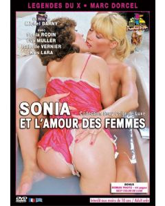 DVD Sonia et l'amour des femmes, Erootilised filmid, Lesbi seks ja Porno videod, Marc Dorcel, Sex Shop