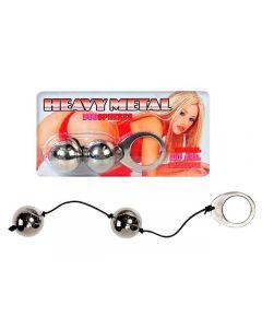 Heavy Metal Duo Balls, rõõmukuulid, Sekslelud, Sekslelud naistele, Vagiinakuulid mitte vibreerivad