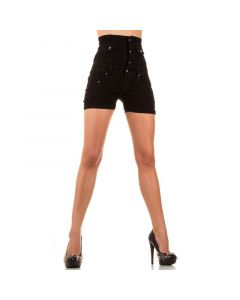 Kõrge äärega mustad naiste shortsid, Pesud & Riided, Naiste pesud ja riided, Sekspood, Teksad, Retuusid, Superdeals