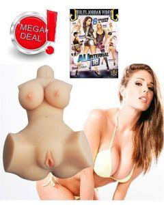 3D REALISTLIK LOVE DOLL JESSICA + DVD + 100ML LIBESTI KOMBO, Sekslelud, Nukud meestele, Sekspood, Sekslelud meestele, SOODUSTUSED